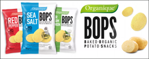 Organique BOPS - Baked Organic Potato Snacks