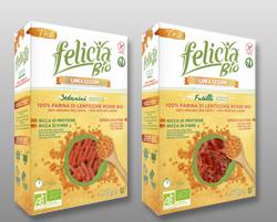 Felicia Bio Rote-Linsen-Pasta