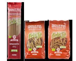 Felicia Bio Vollkornreis-Pasta