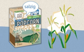 Yum Kah Popcorn salzig