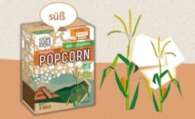 Yum Kah Popcorn süß
